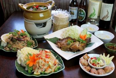 タイ料理通の方も大満足、イサーンコース